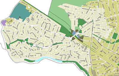 Ward 5 Proposed Zoning Map