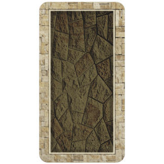 Kahuna Grip Cut Stone Bathmat