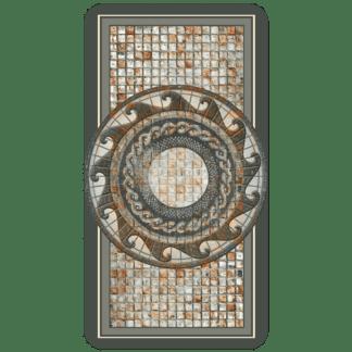 Kahuna Grip Mosaic Medallion Bathmat