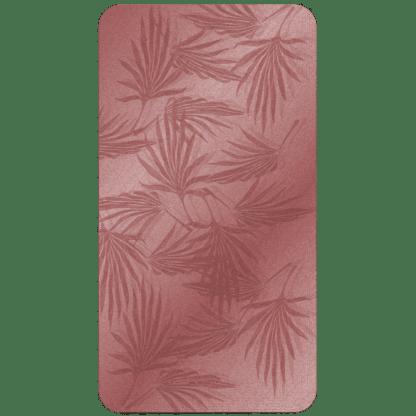 Kahuna Grip Palm Frond Burgundy Bathmat