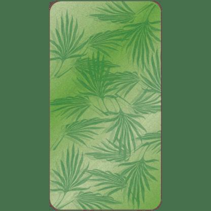 Kahuna Grip Palm Frond Green Bathmat
