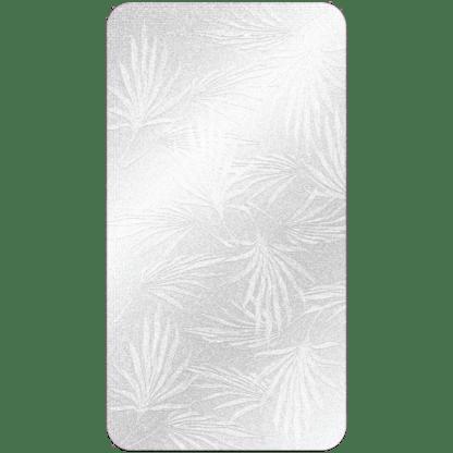 Kahuna Grip Palm Frond White Bathmat