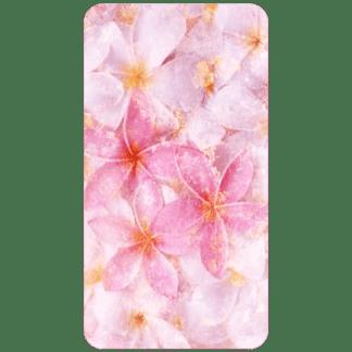 Kahuna Grip Pastel Flowers Bathmat