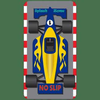 Kahuna Grip Race Car Bathmat