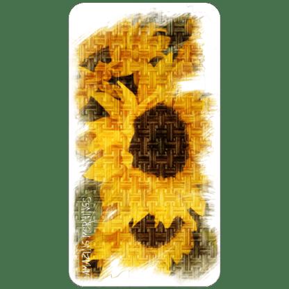 Kahuna Grip Sunflowers Bathmat