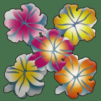 Kahuna Grip Traction Tread Hibiscus Flowers