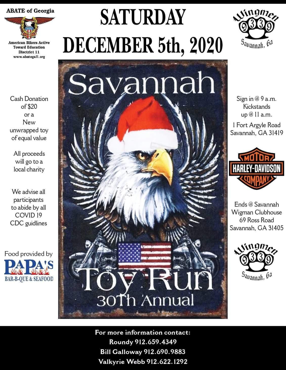 Savannah Toy Run XXX @ Savannah Harley-Davidson | Savannah | Georgia | United States