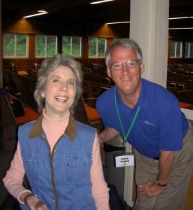 Joni Eareckson Tada and Larry at a Family Retreat