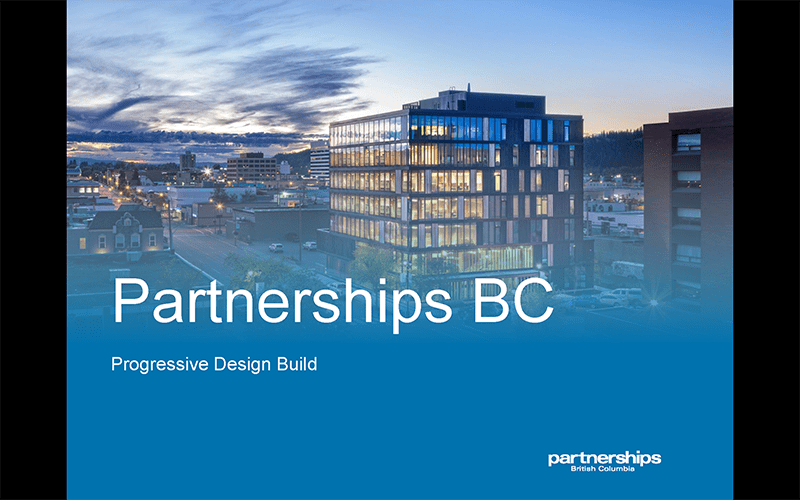 The Competitive Alliance Contracting Model with Partnerships BC