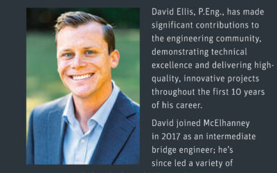 David Ellis Awarded EGBC Young Professional Award