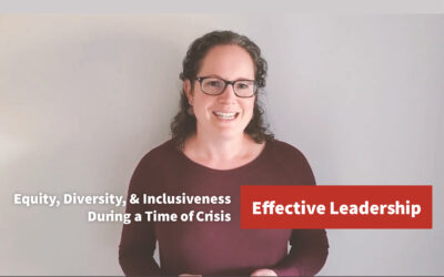 Effective Leadership: Equity, Diversity, and Inclusiveness During a Time of Crisis