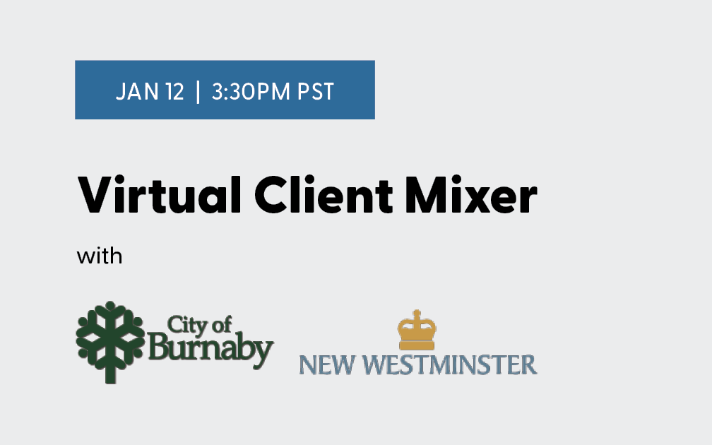 Virtual Mixer with City of Burnaby and City of New Westminster