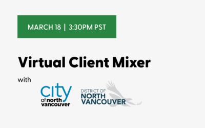 Virtual Client Mixer with the City and District of North Vancouver