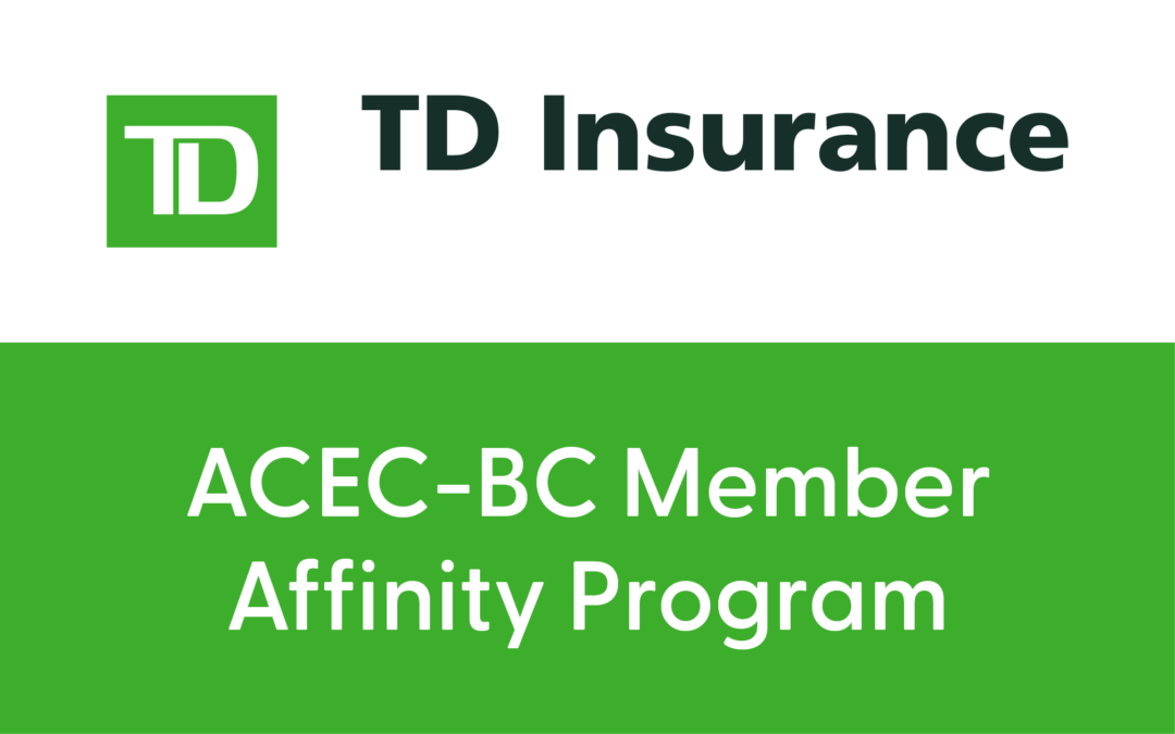 TD Insurance Meloche Monnex: ACEC-BC Member Program