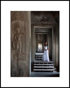 LadyinWhite_AngkorWat_J Cheng