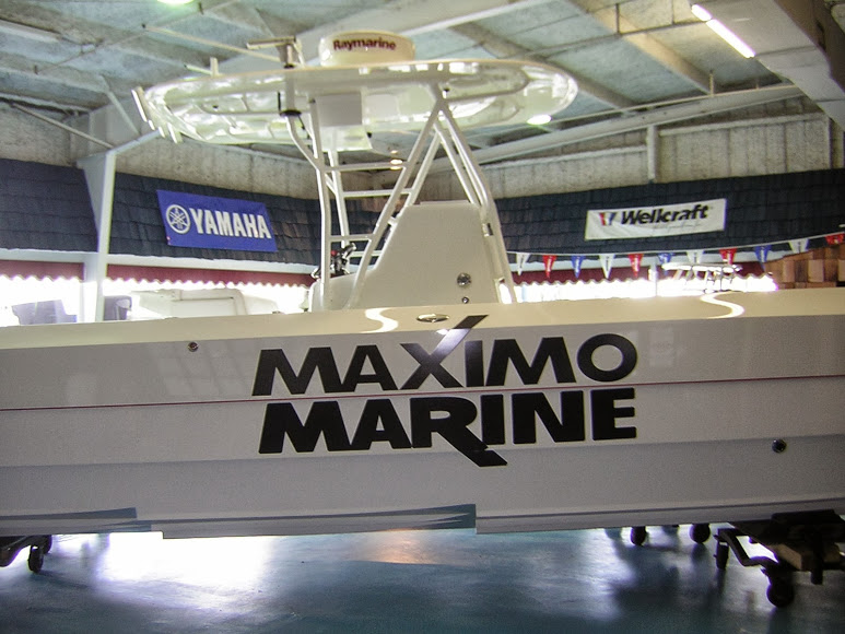 Maximo Marine Boat Lettering