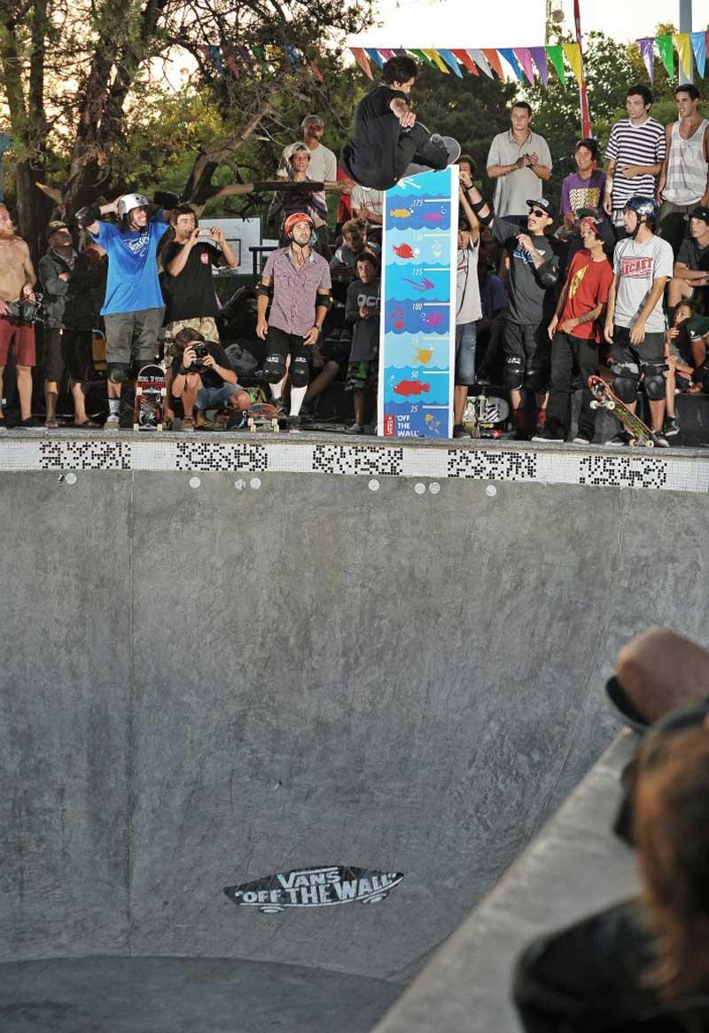 Sandro Moral, ganador Big Air con FS Nosebone.