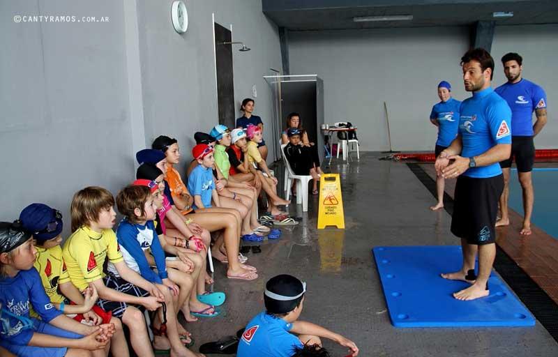 Transmitir lo aprendido, una parte vital del coach. Foto: Hernán Ramos.