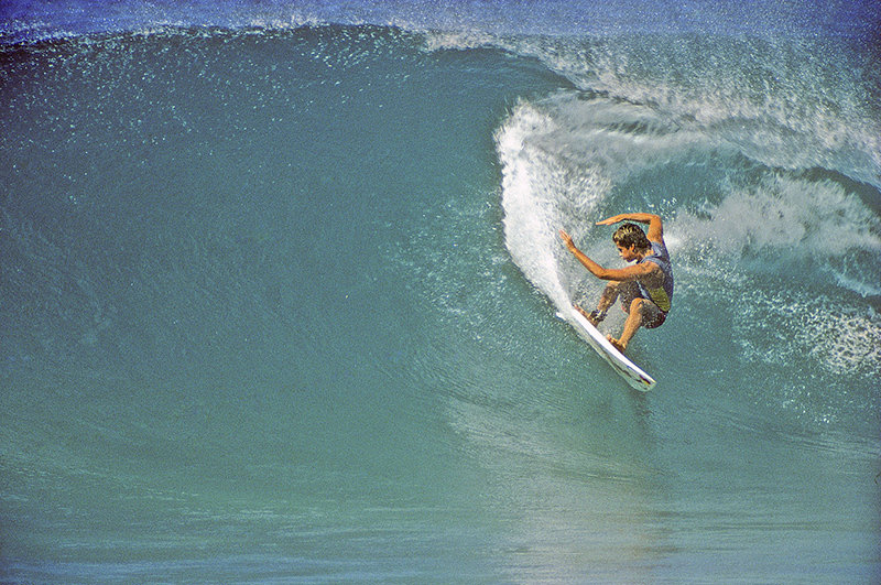 Curren en 1984 por Jeff Divine.