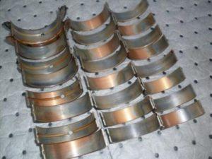 Worn Engine Bearings