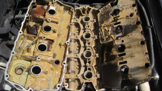 If You Waited Too Long Or Damage Was Extreme, Engine Could Look Like This.