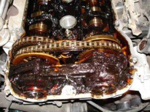 Engine Sludge In 4.7 Chrysler Engine