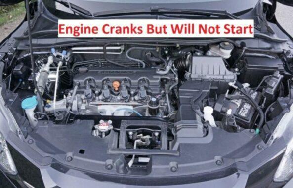 Engine cranks but will not start