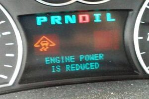Engine Power Is Reduced