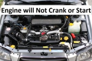 Engine Will Not Turn Over - What Things Should You Check