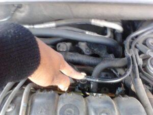 Fuel Line Leak