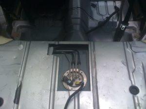 Electric Fuel Pump Access Panel