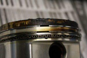Damaged Piston Rings