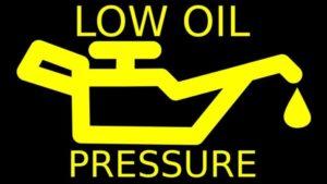 Low Engine Oil Pressure