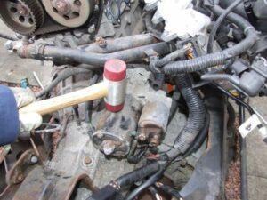 Tap Starter Motor With Hammer