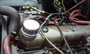 Open Positive Crankcase Ventilation (PCV) System