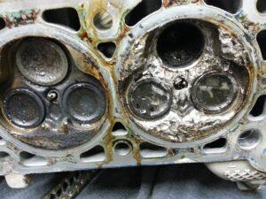 Damaged Cylinder Head