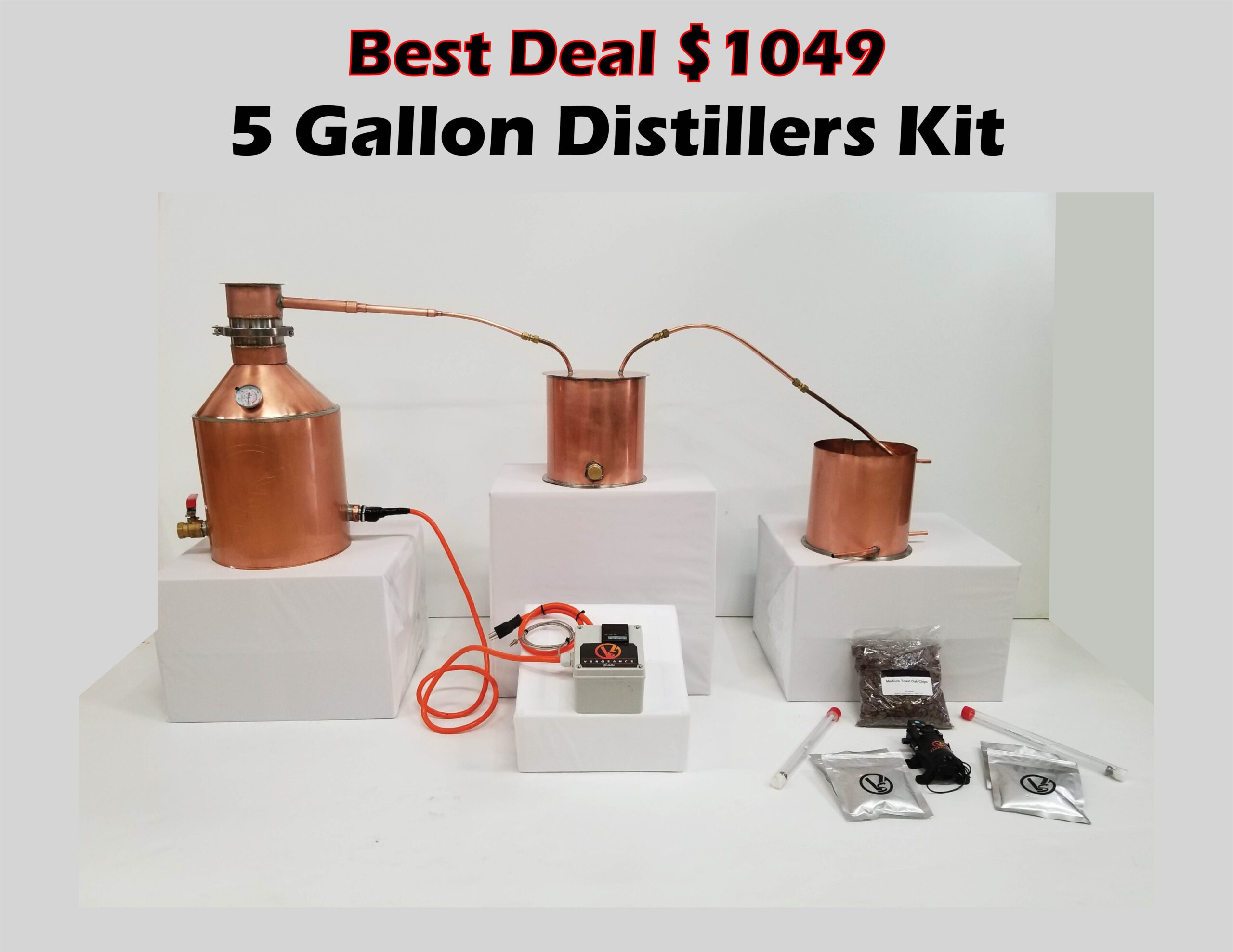 5 Gallon Complete Distillers Kit