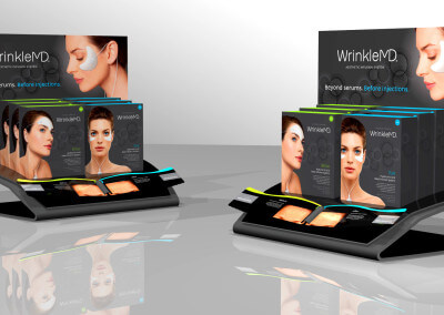 Wrinkle MD Countertop Display