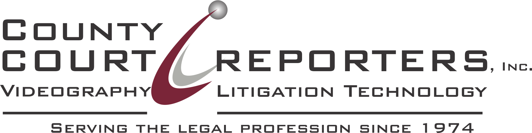 County Court Reporters Logo