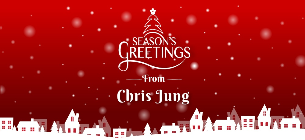 Season's greetings from chris jung