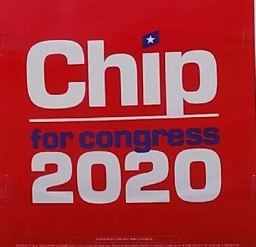 Chip Yard Sign