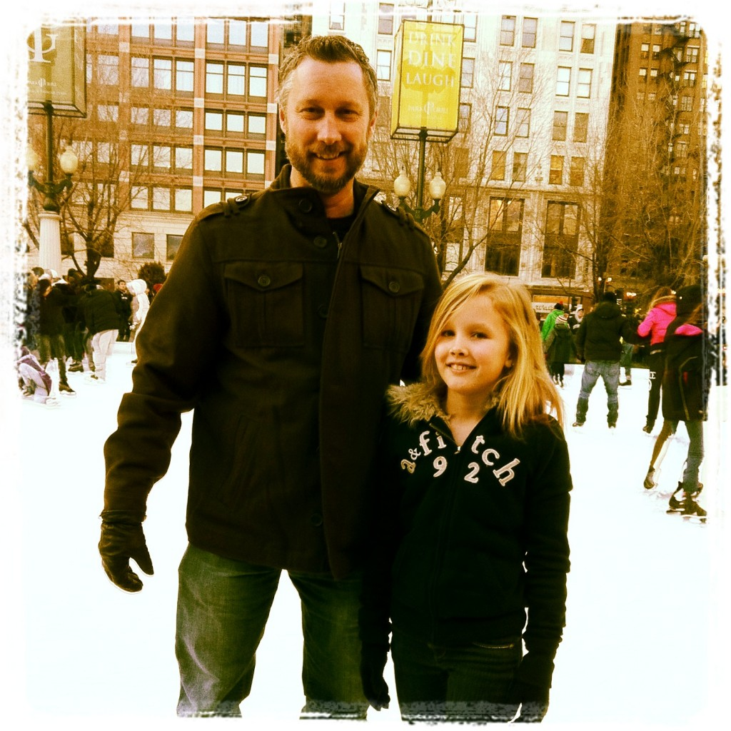 Super Dad and the figure skater
