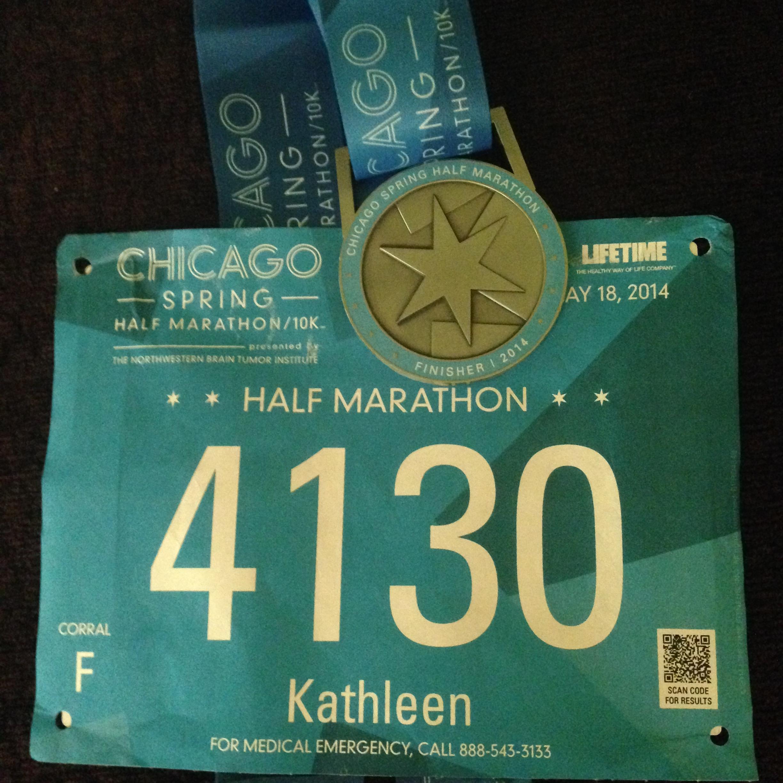 My sixth half marathon: done