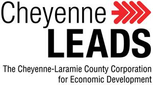 Cheyenne Leads The Cheyenne-Laramie County Corporation for Economic Development decal logo