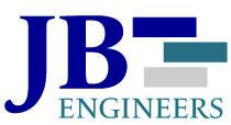 JB Engineers logo footer
