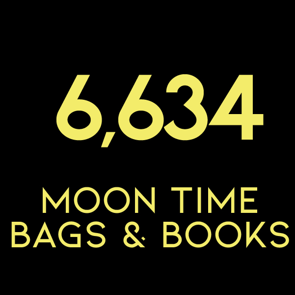 6,634 Moon Time Bags & Books