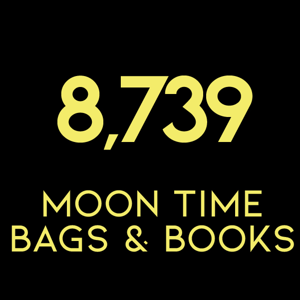 8,739 Moon Time Bags & Books