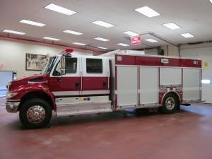 Saint Paul Blvd, NY Fire Dept. Stainless Heavy Rescue - Driver Side