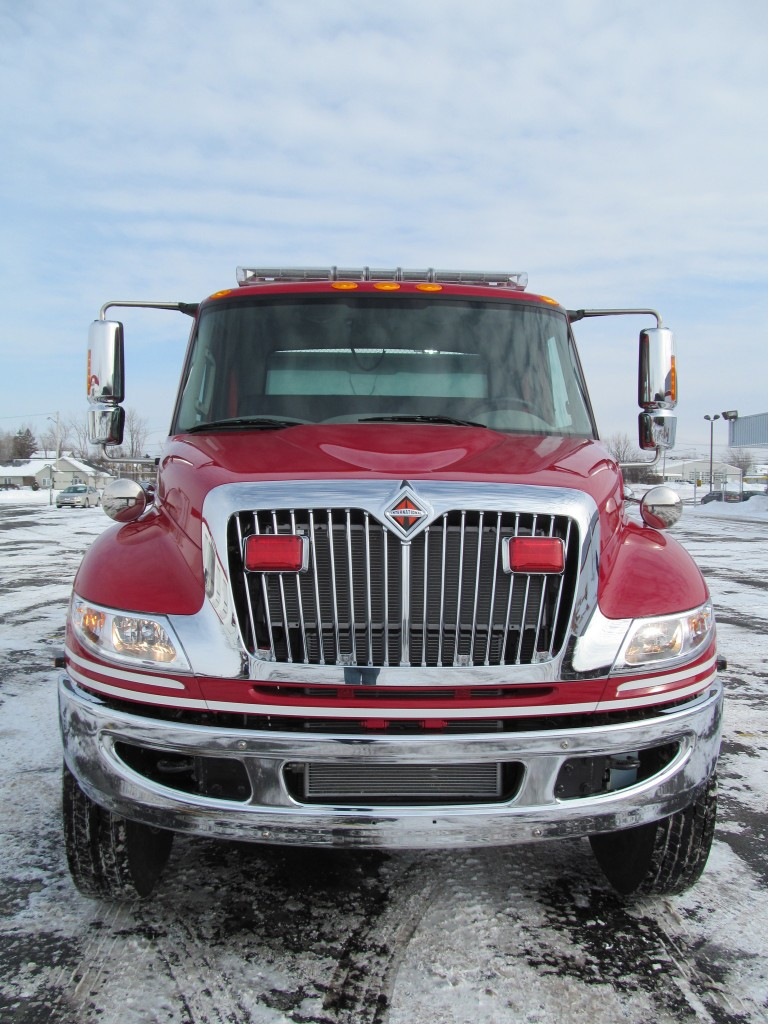 Dennison, OH Fire Department's Stainless E-ONE Pumper - Front