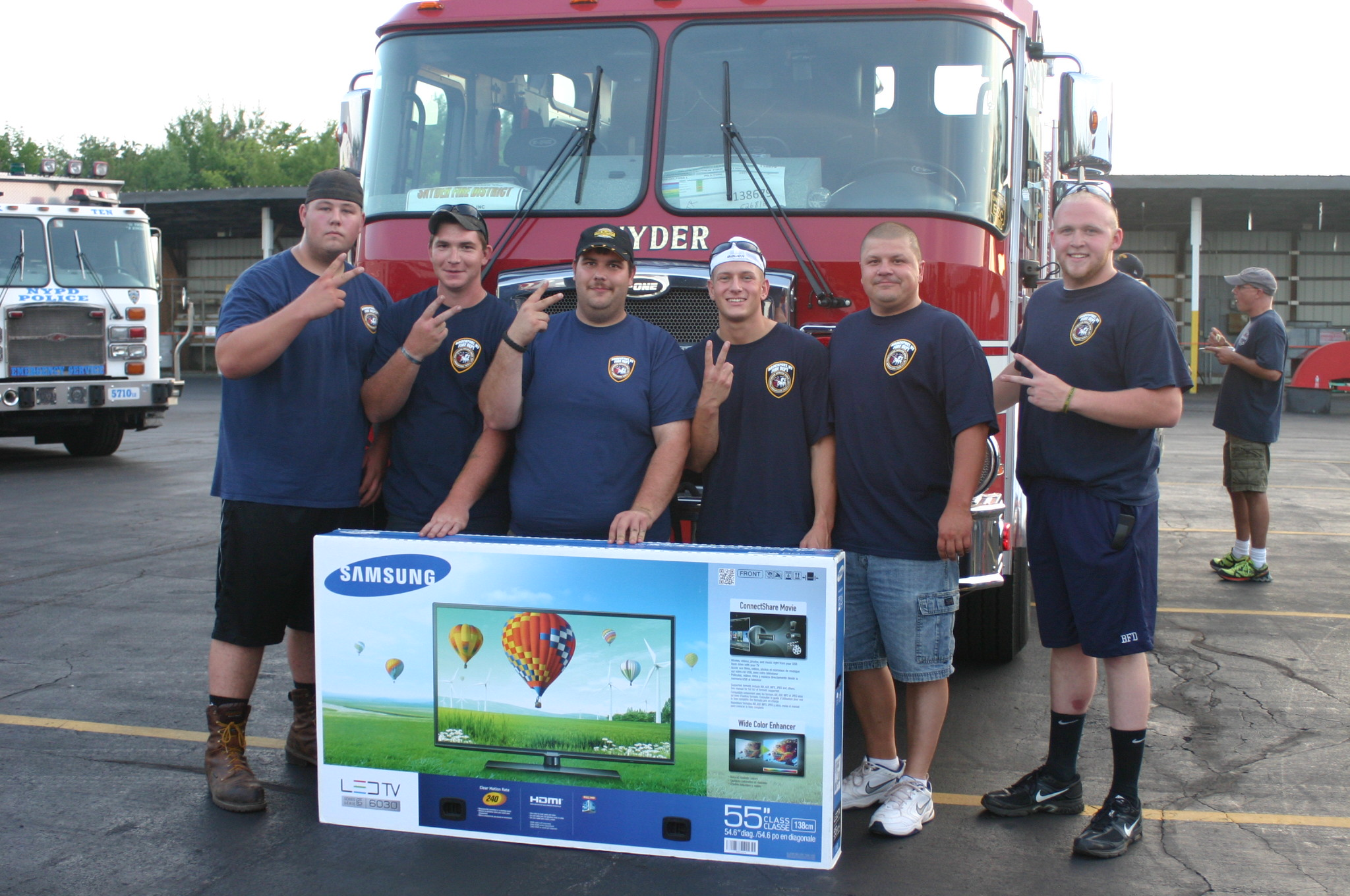 Brockport Fire Rescue 1 2nd place